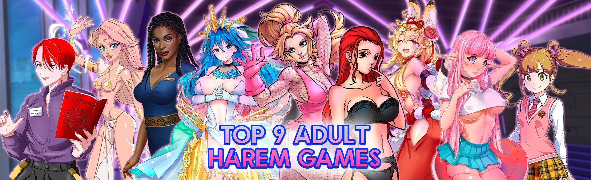 Top Adult Harem Games