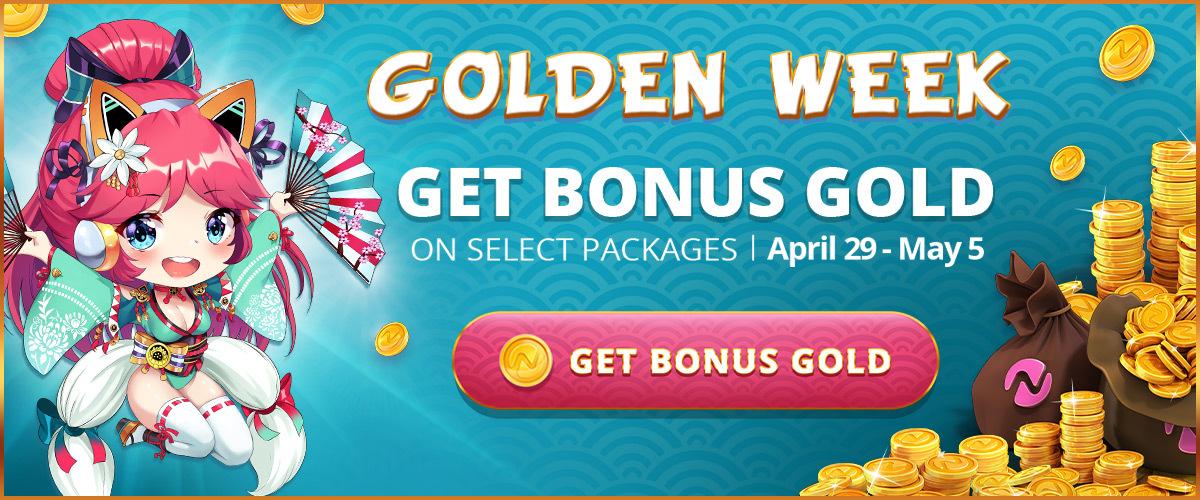 Golden Week Sale On Nutaku